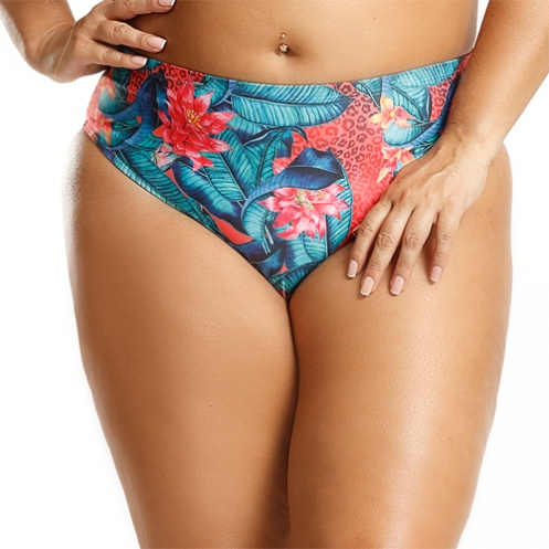 Tanga Plus Size Tropical Bicho